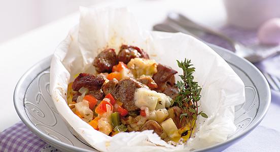 Блюда с картошки на сковородке
