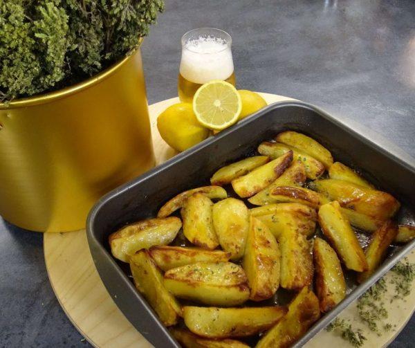 Картофель в пиве